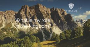 Wat is mijn rol in het Koninkrijk?